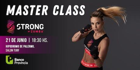 Master Class de Strong by Zumba con Jesica Cirio, Caro Suki y Jony Conquer entradas