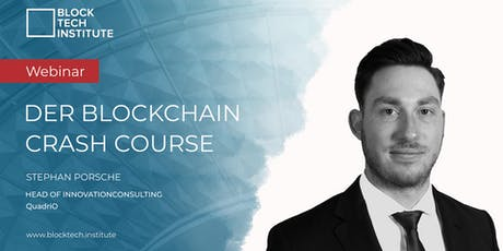 Live-Webinar: Der Blockchain Crash Course Tickets