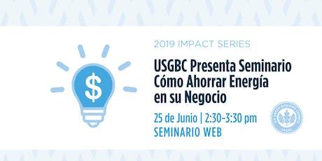 USGBC Presenta un Seminario Web entradas