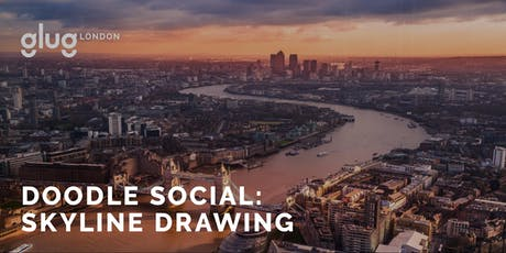 Doodle Social: London Skyline Drawing tickets