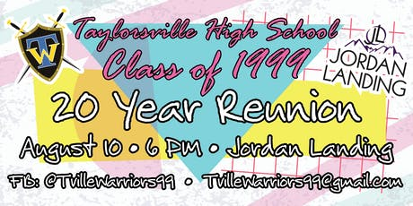 Taylorsville High School 1999 - 20 Year Reunion tickets
