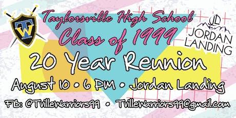 Taylorsville High School 1999 - 20 Year Reunion tickets