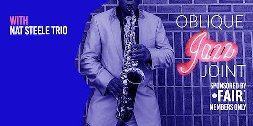 Oblique's Jazz Joint: August