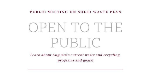 Public Meeting on Solid Waste Plan