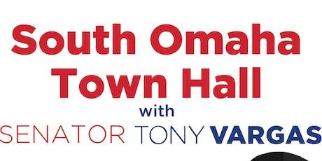 Senator Tony Vargas South Omaha Town Hall tickets