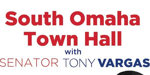 Senator Tony Vargas South Omaha Town Hall
