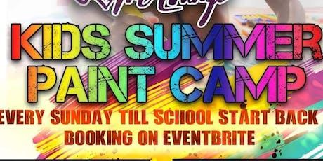 Kids Summer Paint Camp!! tickets