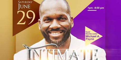 INTIMATE NIGHT OF WORSHIP tickets