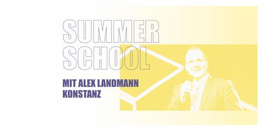 SUMMER SCHOOL KONSTANZ 2019