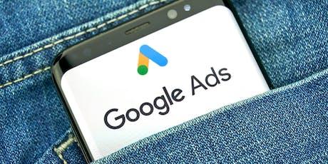 Atelier GRATUIT : comment être 1er tout de suite avec Google Ads ? billets