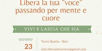 Vivi E Lascia Che Sia| Workshop