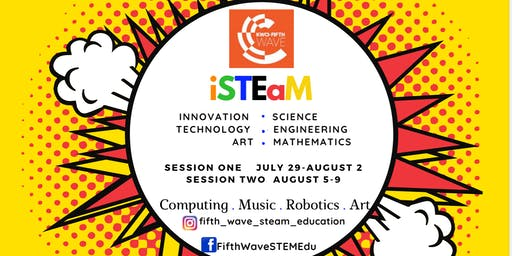 STEM Summer Camp-Fifth Wave STEaM