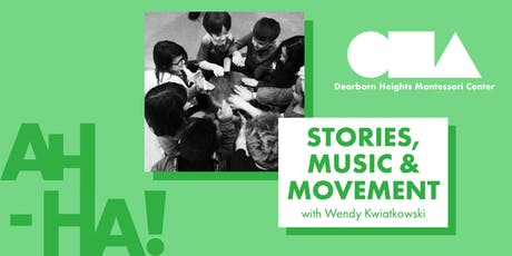 Stories, Music & Movement : Wendy Kwiatkowski (Ages 3-12) tickets