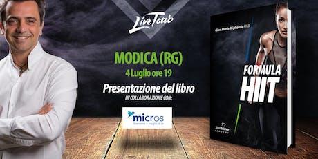 MODICA | Presentazione libro Formula HIIT  biglietti
