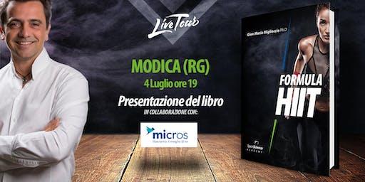 MODICA | Presentazione libro Formula HIIT