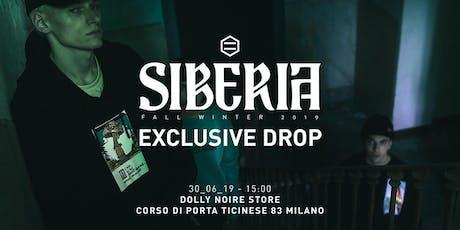 EXCLUSIVE DROP SIBERIA biglietti