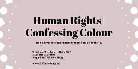 Human Rights | Confessing Colour tickets