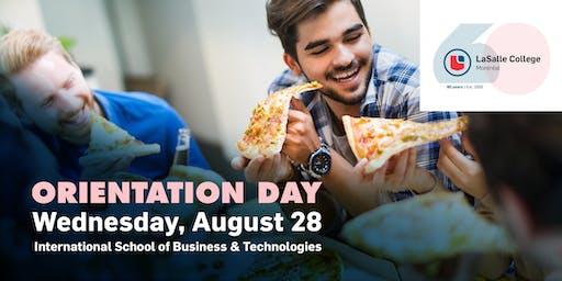 International School of Business | Orientation Day 2019
