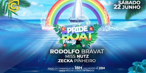 PRIDE BOAT PARTY - CONSTRUCTION LISBON CLUB