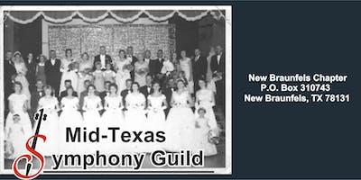 2019-2020  New Braunfels Mid Texas Symphony Guild Membership Drive