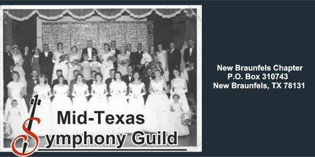 2019-2020  New Braunfels Mid Texas Symphony Guild Membership Drive tickets