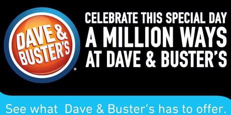 Dave and Buster's Woodbridge Vendor Showcase tickets