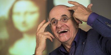 Marcos Caruso em O Escândalo Philippe Dussaert / Sesc Passo Fundo / Teatro adulto ingressos
