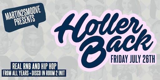 Holler Back - Hiphop & RnB at OMEARA