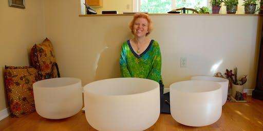 Free Summer Crystal Bowl Meditation 2