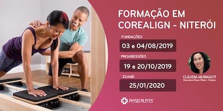 Formação em CoreAlign - Physio Pilates Balanced Body - Niterói ingressos
