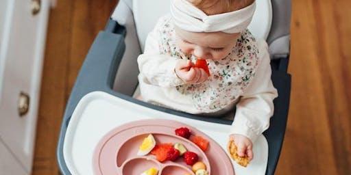 Atelier diversification alimentaire menée par l'enfant (DME)