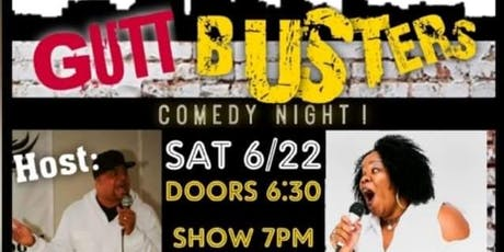 Laugh it up at GutBuzterz tickets
