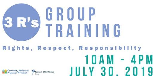 3 R's Training