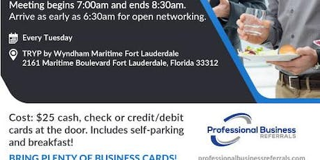 Visitor's Day at Fort Lauderdale Networking Event tickets
