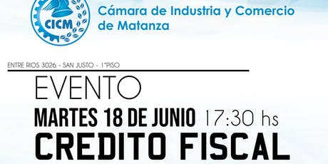 Crédito Fiscal CICM tickets