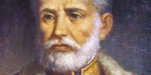 General Jozef Bem und andere polnische Offiziere unter Halbmond im 19. Jahrhundert