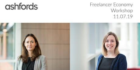 Freelancer economy: An employment law workshop with Ashfords LLP tickets