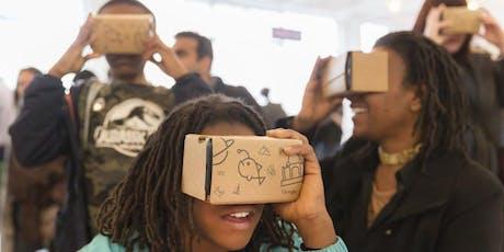Virtual Worlds Masterclass + Mega Maker Lab entry tickets