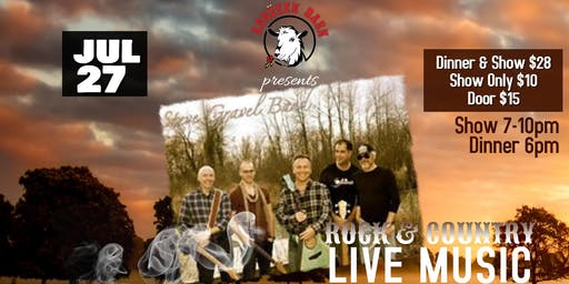 Live Music with THE STEVE GRAVEL BAND