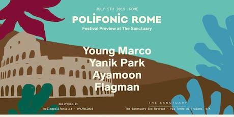 Polifonic Fstvl preview | Rome biglietti