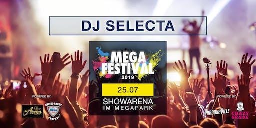 MEGAFESTIVAL - DJ SELECTA
