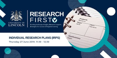 Individual Research Plans (IRPs) | Research First