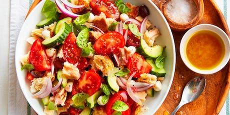 No-Cook Summer Recipes Workshop tickets