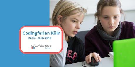 Codingferien Köln Tickets