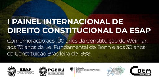 I PAINEL INTERNACIONAL DE DIREITO CONSTITUCIONAL DA ESAP