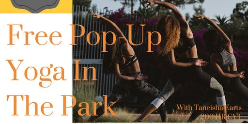 Free Pop-Up Yoga in Forest Park