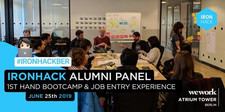 Alumni Panel - 1st Hand Bootcamp & Job Entry Experience Tickets