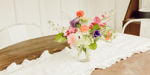 Flowers 101 Workshop