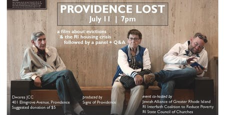 Providence Lost Screening tickets
