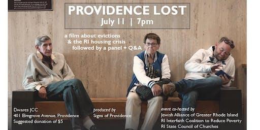 Providence Lost Screening